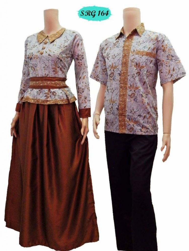 Jual Baju Batik Sarimbit Gamis Murah Onixcreative